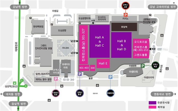 Http Www Coex Co Kr Tour Guide Traffic Location